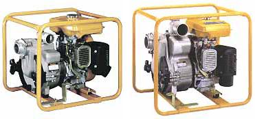 Samonasávací kalová čerpadla SUBARU ROBIN PTX201T a PTX301T