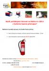 Štafeta - hasicí přístroj